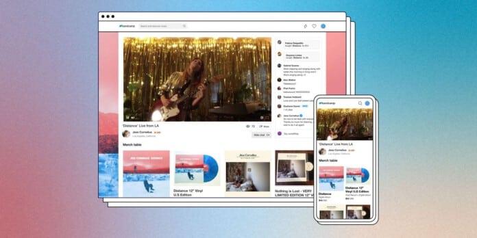 Bandcamp startet einen Livestreaming-Service für Künstler:innen